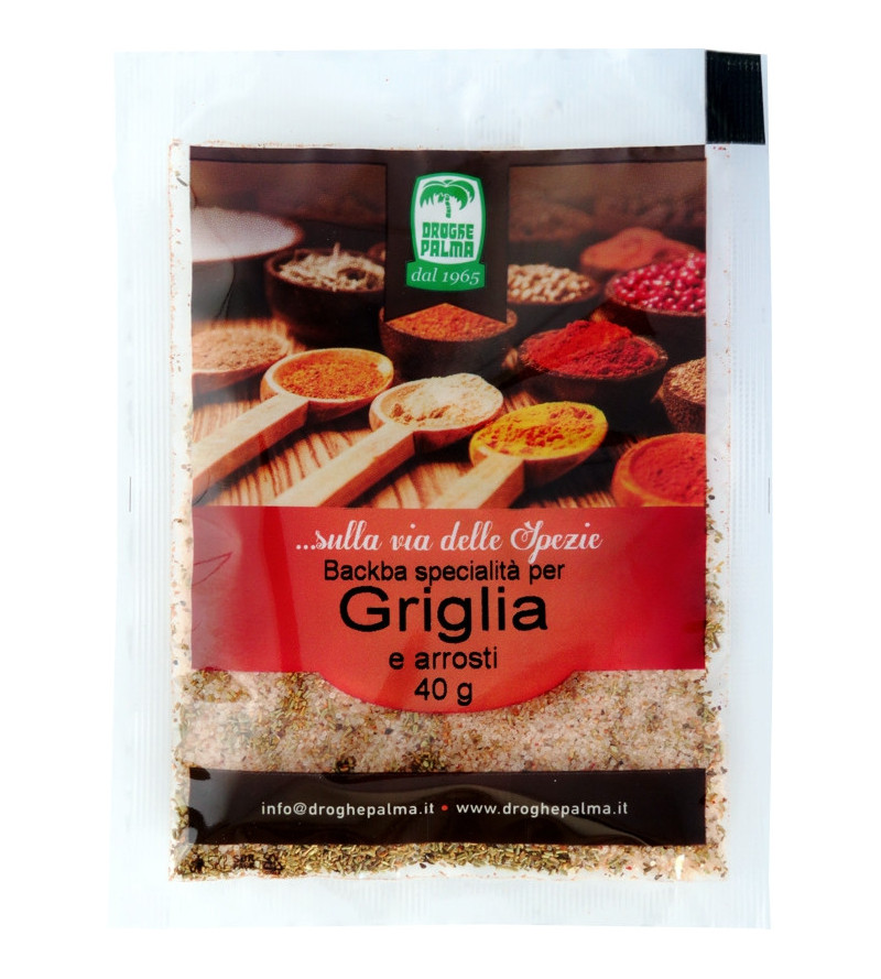 BACKBA GRIGLIA E ARROSTI g.40