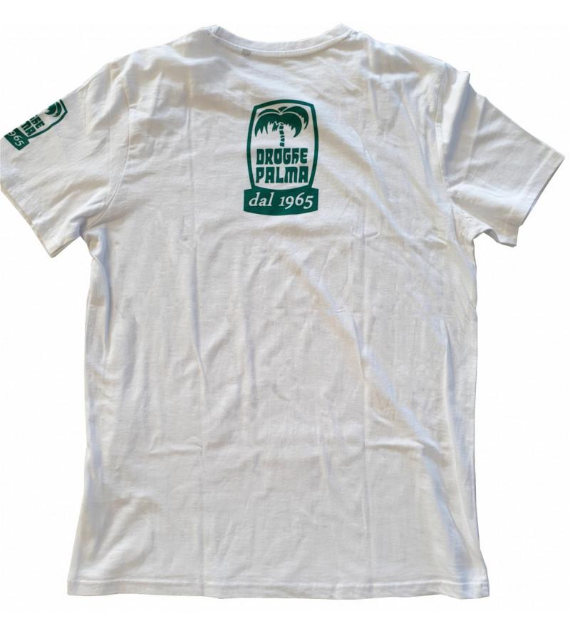 T-shirt cotone con doppio...